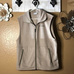 Medium Tan Women Columbia vest